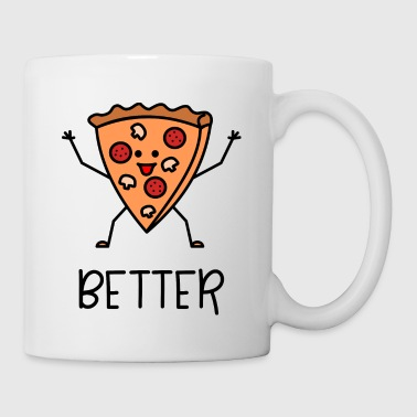 Better Together Partnerlook (Part1) Pizza - Tasse