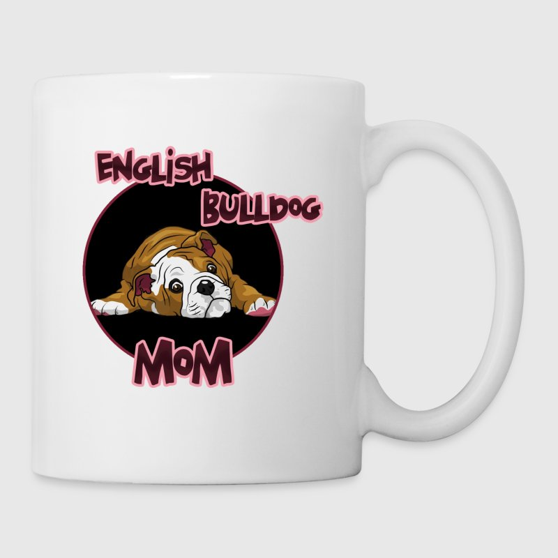 english bulldog mom - Tasse
