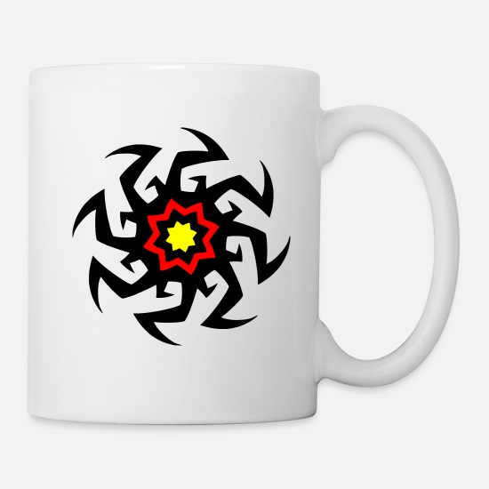 Tribal Tattoo Mugs & Drinkware - Join With Us - Mug white