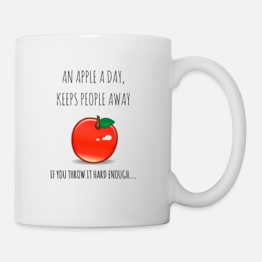 En Apple om dagen - Mugg