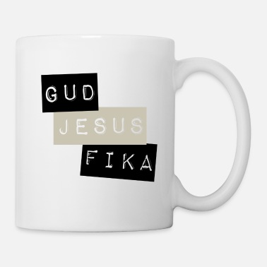 The Son Of God God Jesus Fika - Mug