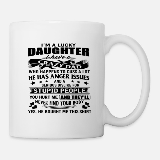 Offspring Mugs & Drinkware - Father daughter daddy family buddy gift idea - Mug white