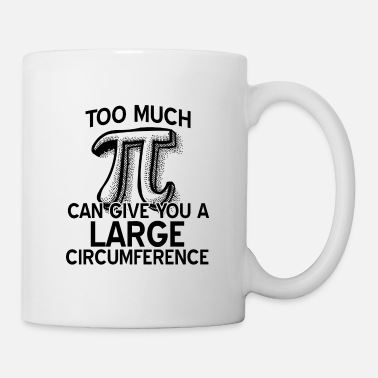 Having Fun Pi Pi Day Mathematics Numbers Rounded mathematicians - Mug