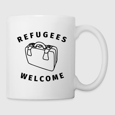 refugees welcome - Kubek