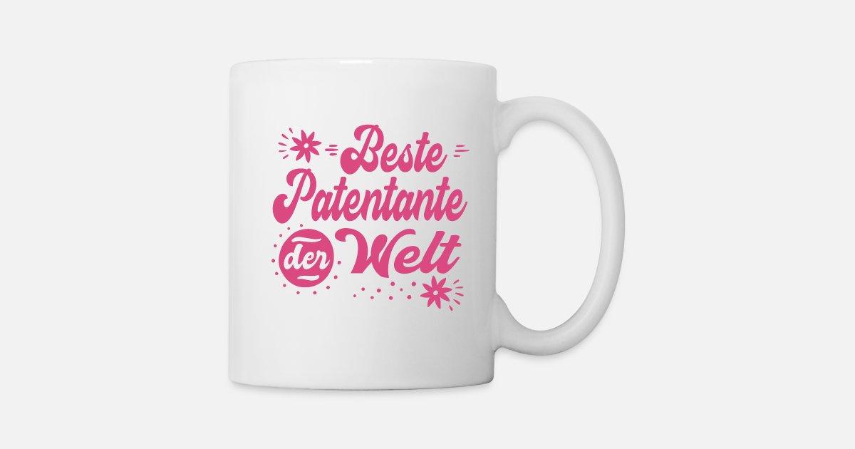 Coole Werdende Beste Patentante Sprüche Geschenke Tasse Spreadshirt
