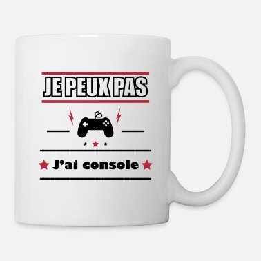 Console Je peux pas j'ai console,geek,gamer,gaming - Mug