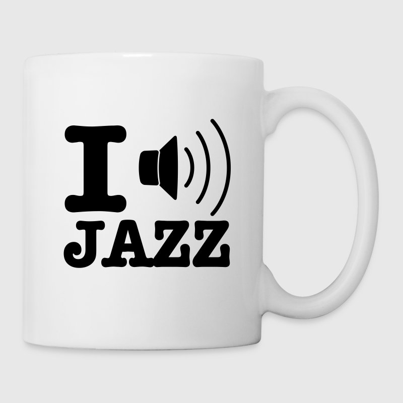 I love jazz / I music jazz - Mug