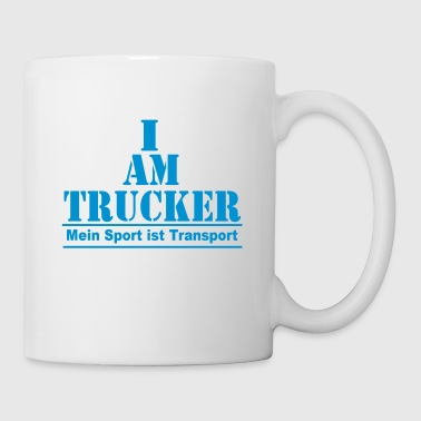 Trucker Transport - Tasse