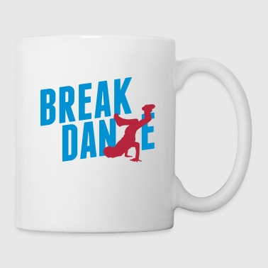 breakdance - Mug blanc