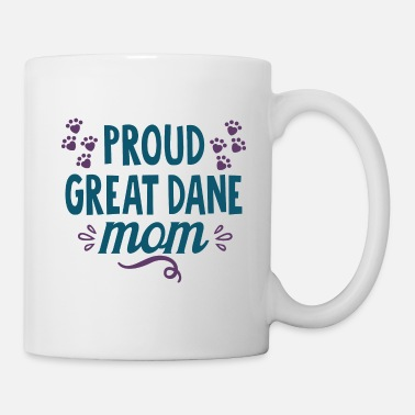 Shopping Proud Great Danes Mother Cool Cute Funny Joke - Mug