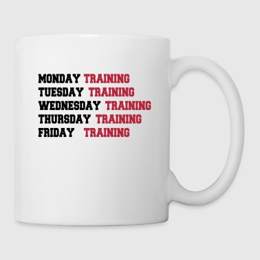 Training week - Mug blanc