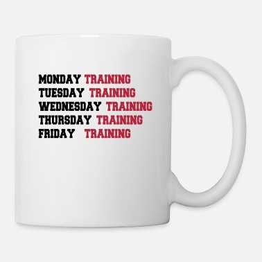 Training Training week - Mug blanc