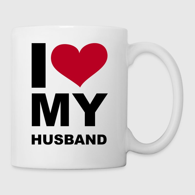 I love my husband - eushirt.com - Tasse