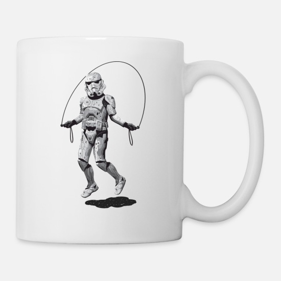 Collection Mugs et récipients - STORMTROOPER SKIPPING - Mug blanc