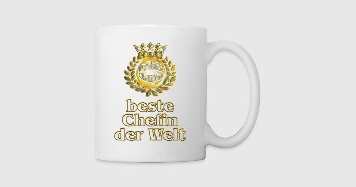 beste Chefin der Welt - goldene Serie von bestshirt24 | Spreadshirt