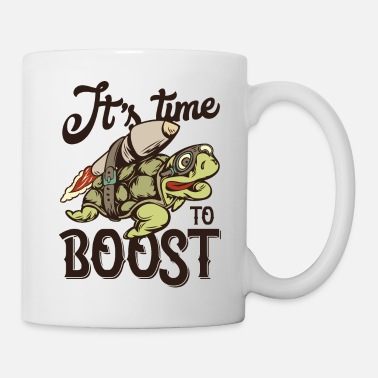 Time Turtle boost - Turbo - Aufgeladen - Tasse