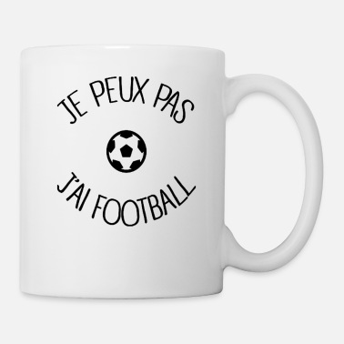 Football Je peux pas j'ai football - Mug