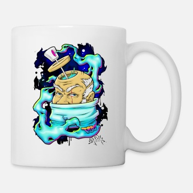 Spray Genius - Graffiti character design - Mug