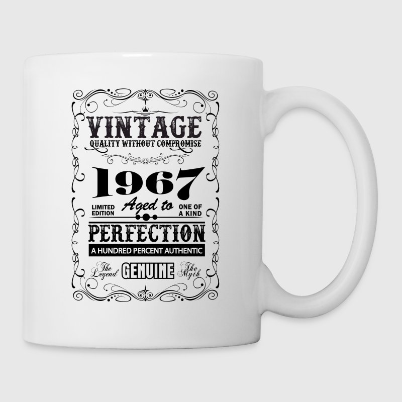 Premium Vintage 1967 Aged To Perfection - Mug