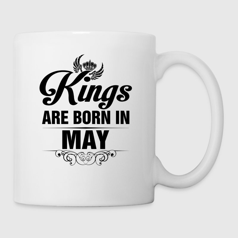 Kings Are Born In May Tshirt - Mug