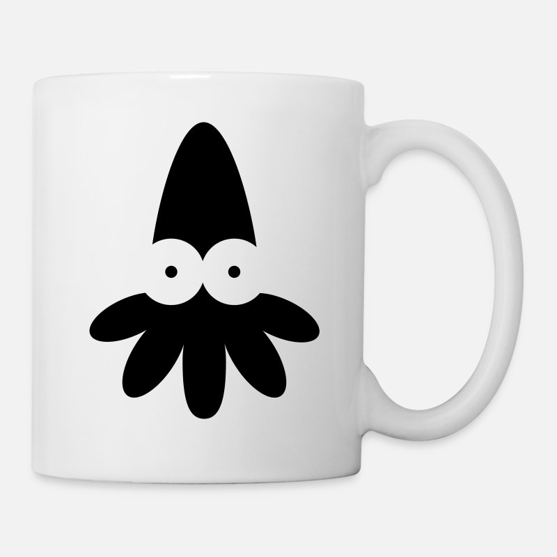 Baby Mugs & Drinkware - Squid - Vector - Mug white