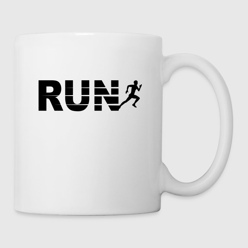 Run, course à pied - Mug blanc