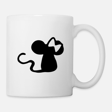 Veleno Mouse con fiocco - idea regalo mouse - topo - Tazza