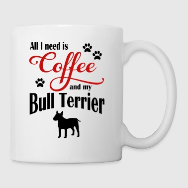 Bull Terrier Coffee - Mug