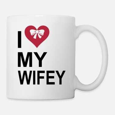 Brides Entourage I Love My Wifey - Mug