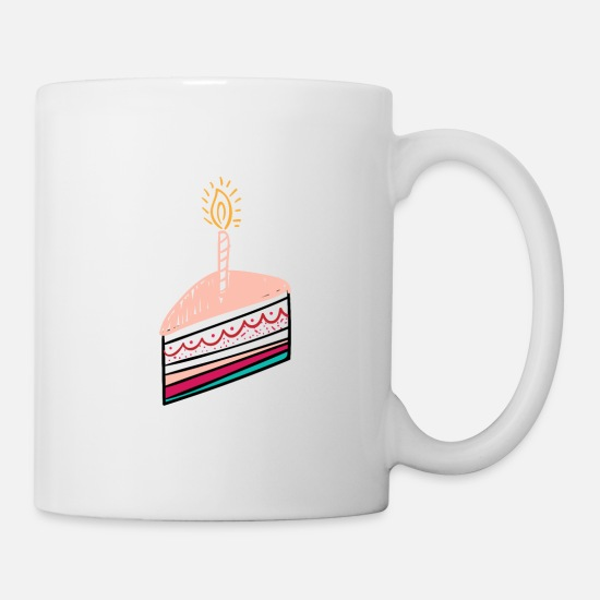 Birthday Mugs & Drinkware - Birthday birthday cake birthday - Mug white
