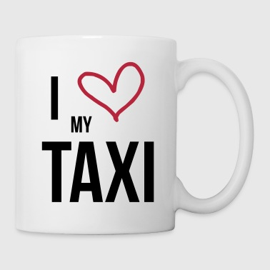 I Love my Taxi - Kubek