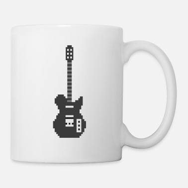 Player Pixel E Guitar Player Guitarist Gamer Gift - Mug