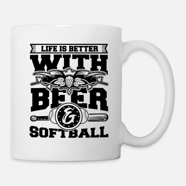 Softball Player Softball Player Coach Fan Funny Quotes - Mug