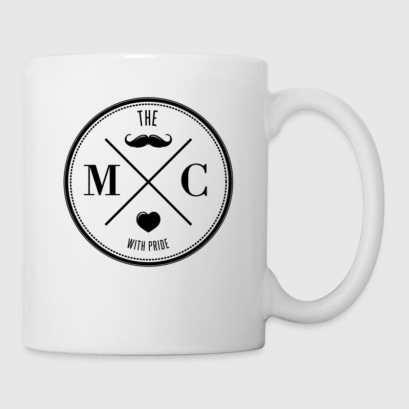 The Movember Moustache Club with pride - Taza