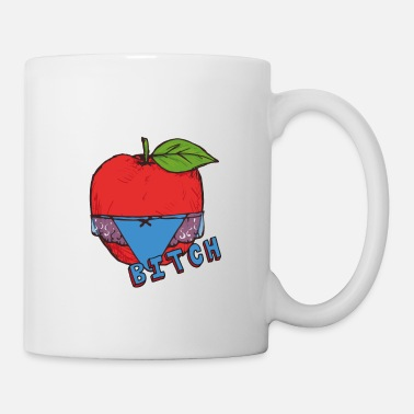 Healthy Underwear Apple Thong Underwear Bitch Funny Sexy - Mug