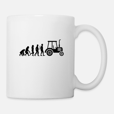 Trecker Tractor Trecker Evolution Farmer Farmer Farm - Mug