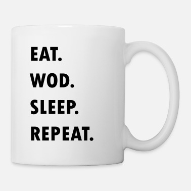 Eat. WOD. Sleep. Repeat. - Mug