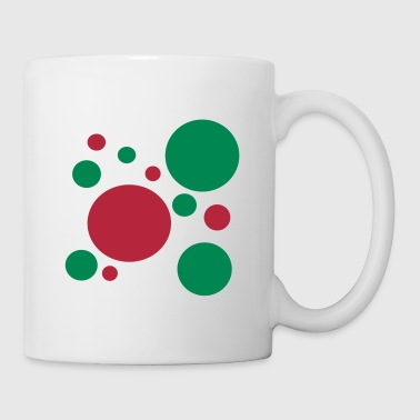 Petits pois kitch - Mug blanc