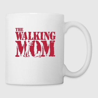 The walking Mom - Baby - Schlaflos - Zombie - Tasse