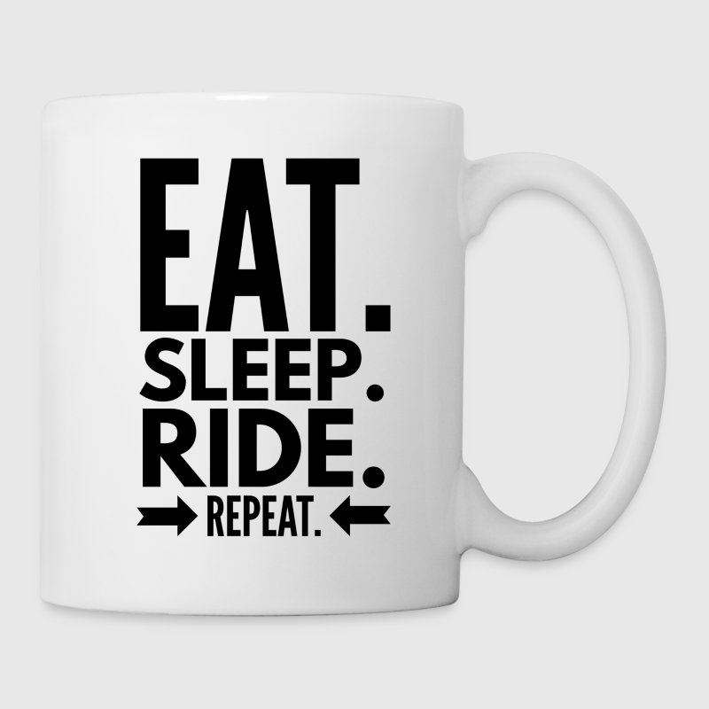Eat Sleep Ride Repeat - Mug