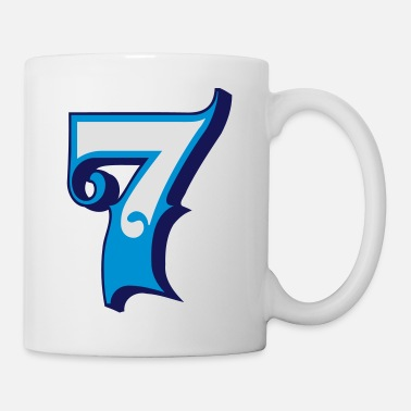 Sieben Fun Numbers 7 - 3C colorchange - Tasse