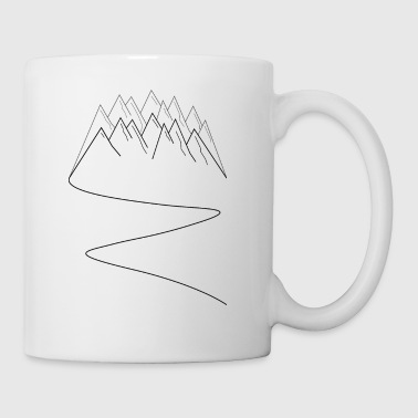 Mountains Mountains Mountain sports Mountain running - Mug