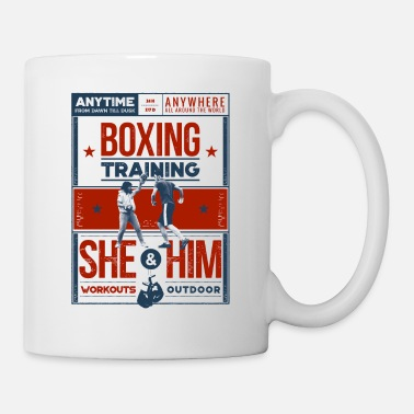 Training Boxing Training - Mug blanc