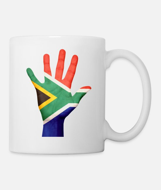 Africa Mugs & Drinkware - South Africa - Mug white