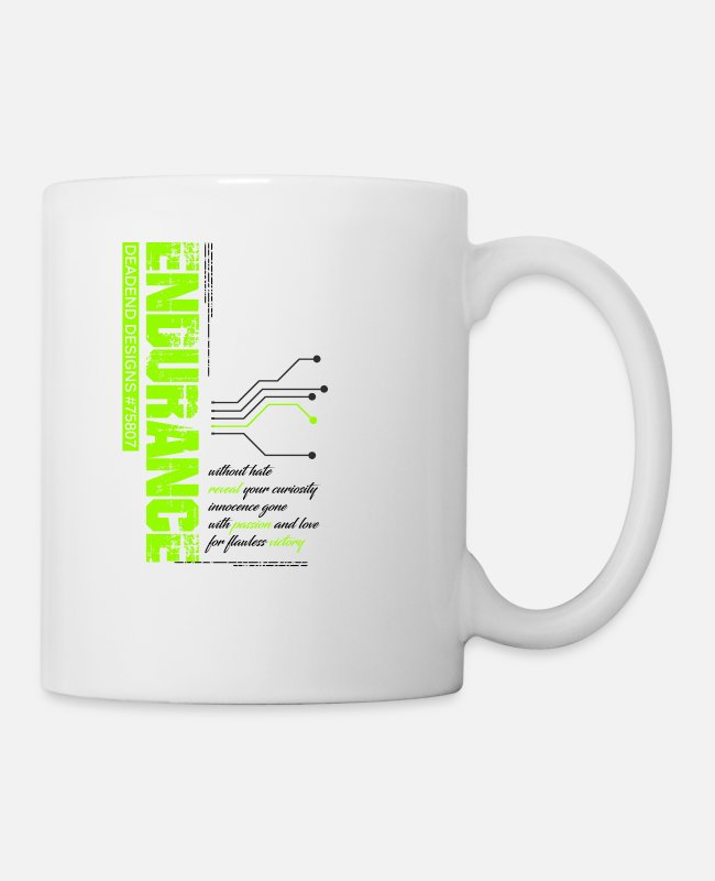 Word Mugs & Drinkware - Endurance - Mug white
