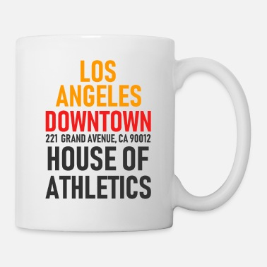 San Francisco Los Angeles - Downtown - House of Athletics - Cal. - Tazza