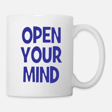 Underground OPEN YOUR MIND - cool gezegde - cadeau-idee - Mok
