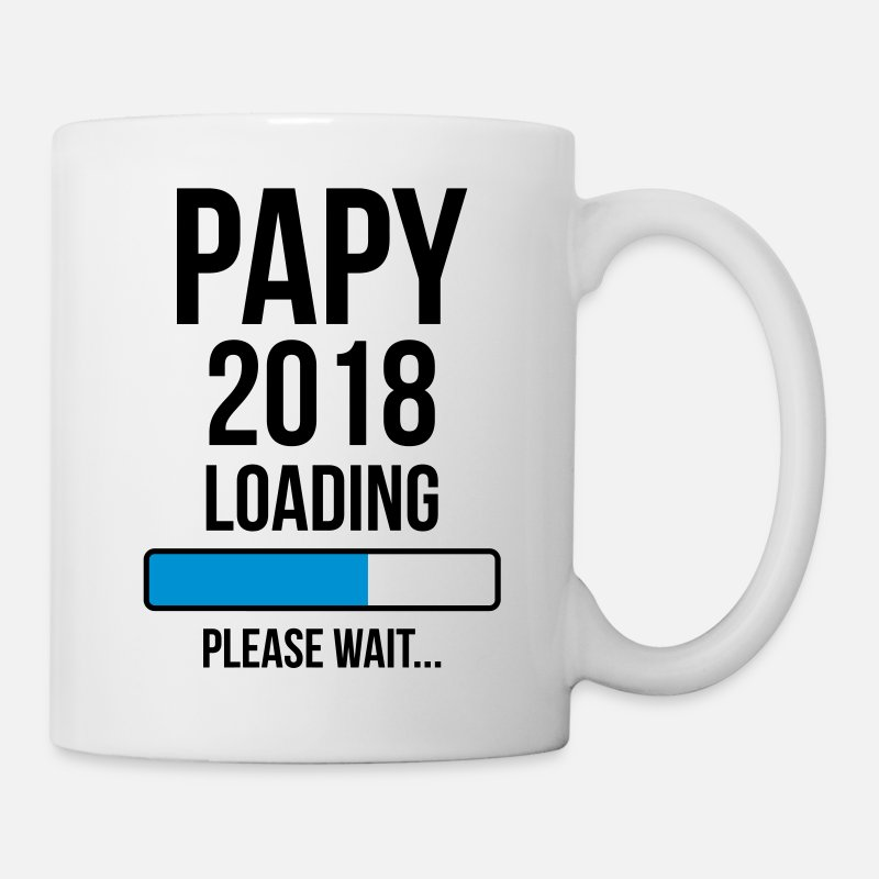 Birthday Mugs & Drinkware - Papy / Grand-Père / Papi / Grand Pere / Drôle - Mug white