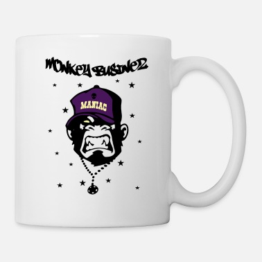 Nerd Monkey Businez 6 - Tasse