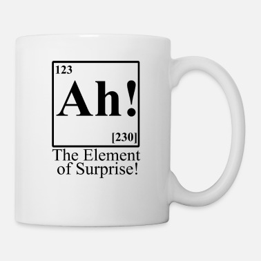 Ah!,The Element Of Surprise - Mug